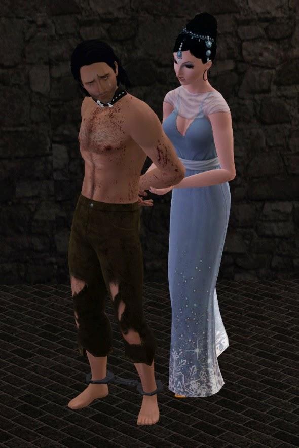 Sims 3 Cuffed Pose