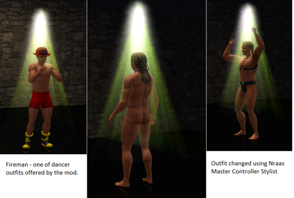 Sims 3 Proffessionsl Dancer mod
