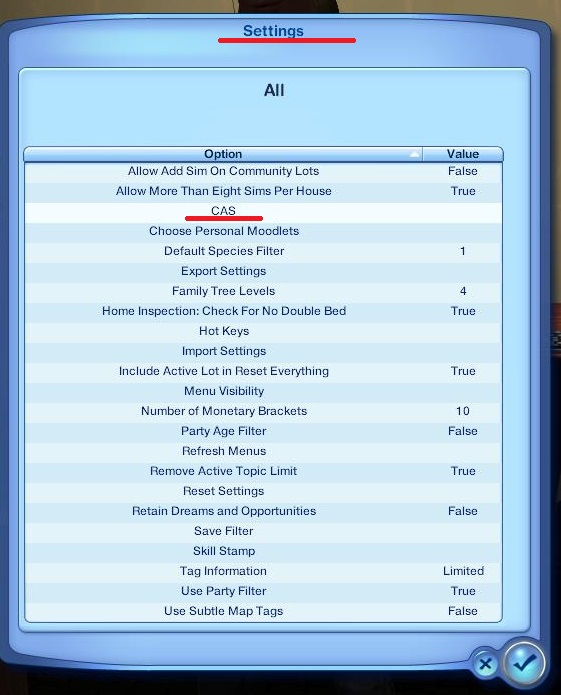 Sims 3 CAS Sliders | Mod Frenzy
