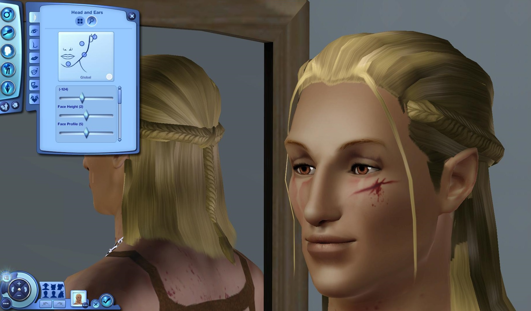 Sims 3 CAS Sliders   Mod Frenzy