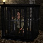 Sims 3 Man in Cage pose